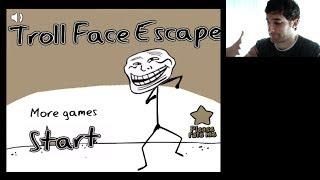 EL JUEGO MAS TROLL!!! Troll Face Escape - [LuzuGames]