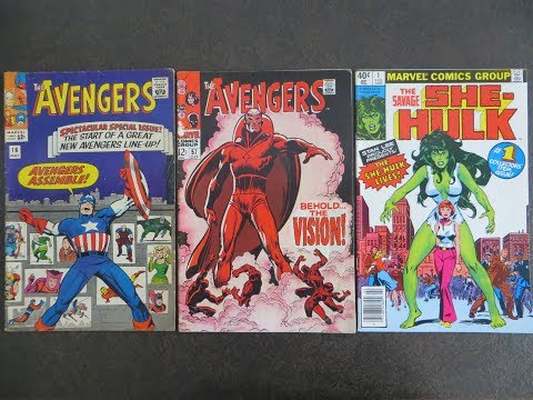 NEW Comic Book Haul Wild Finds! & 50 Cent Sale Finds!