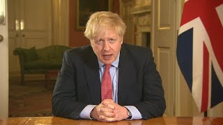 Boris Johnson announces complete UK lockdown amid coronavirus crisis