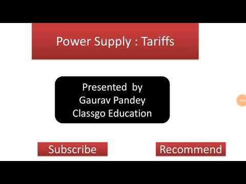 Power Tariff + Availability Based Tariff + UI Mechanism