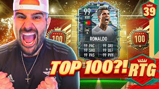 OMG MOST OP CR7 EVER!!? TOP 100 ON THE RTG? FIFA 21 RTG #39