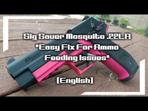 Sig Sauer Mosquito .22LR *Easy Fix For Ammo Feeding Issues* (English)