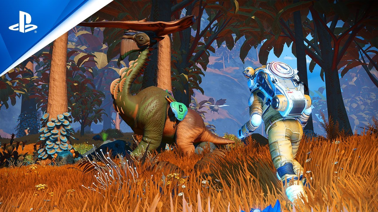 No Man's Sky - Bande-annonce de gameplay | E3 2014 | PS4