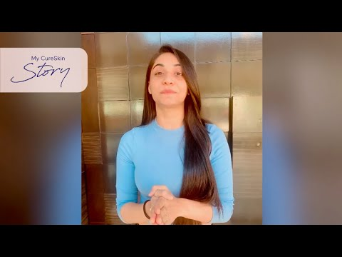 Shivani reveals her secret to Better Skin | CureSkin App Reviews #MyCureSkinStory
