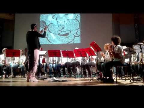 Corpo Musicale Cittadino Cerro Maggiore - Banda Cartoons ( Popeye sailor man )