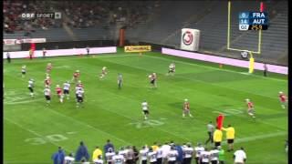 A clip of austria vs france