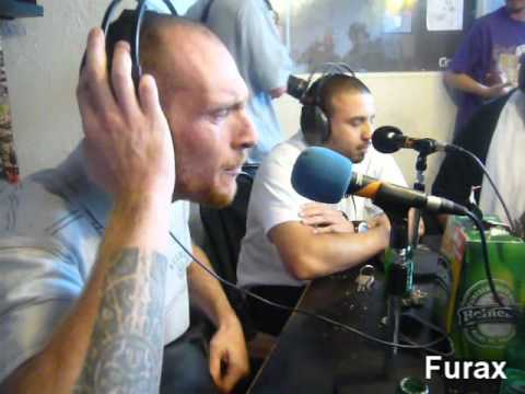 Furax Barbarossa & GQ (USA) - Freestyle Radio (Toulouse/France)