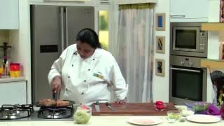 Ham And Spinach Focaccia Sandwich   Sanjeev Kapoor Khazana