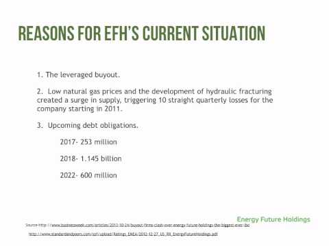 Energy Future Holdings MGT Project With Audio