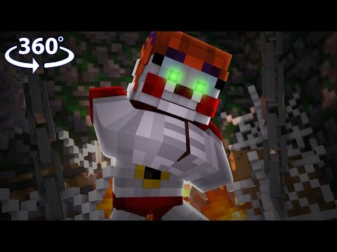 Five Nights At Freddy's - CIRCUS BABY VISION! - 360° Minecraft Video