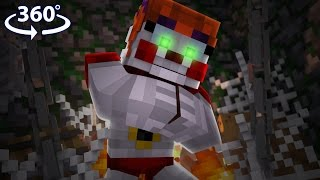 �������� ���� Five Nights At Freddy's - CIRCUS BABY VISION! - 360° Minecraft Video ������