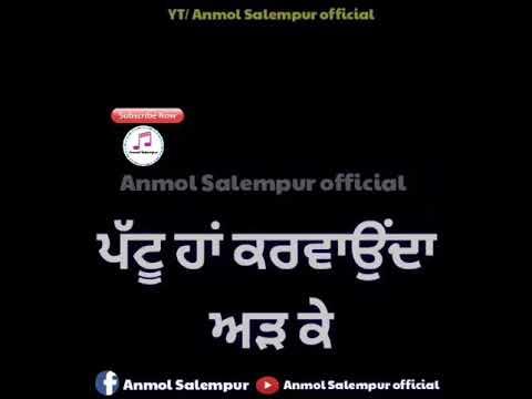 Pind de gerhe by Rupinder handa whatsapp status (Full HD) Anmol Salempur officials
