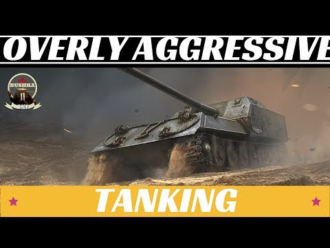 How To Be An Overly Aggresive Human Featuring the Obj.263 World of Tanks Blitz