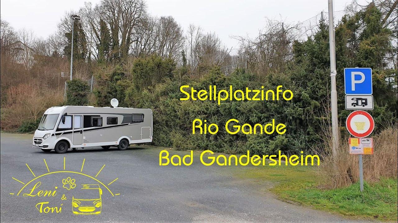 Leni & Toni CHECK: Wohnmobilstellplatz Rio Gande  Bad Gandersheim   Niedersachsen