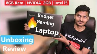 Lenovo Ideapad 320E 7th gen intel i5 Unboxing & Review In Hindi | Best Budget Gaming Laptop