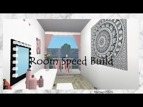 Welcome to bloxburg bedroom speed build asurekazani for Kitchen designs bloxburg
