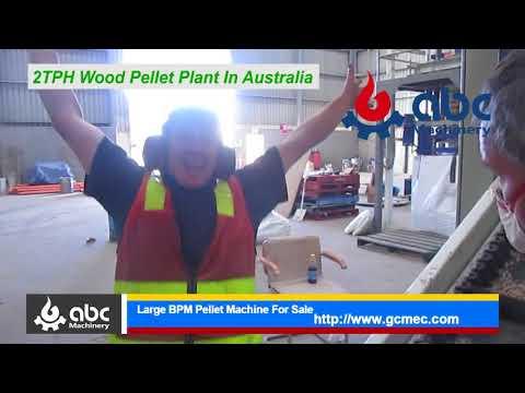 Make Biomass Pellets - 2Ton/H Wood Pellet Plant In Australia