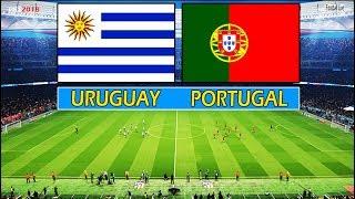 PES 2018 | URUGUAY vs PORTUGAL | Full Match & Amazing Goals & Penalty Shootout | free kick goal CR7