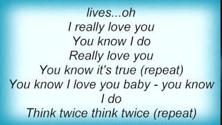 Erykah Badu - Think Twice Lyrics