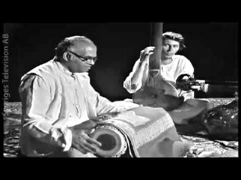 Pandit Taranath pakhawaj solo in Chowtal, Stockholm 1969