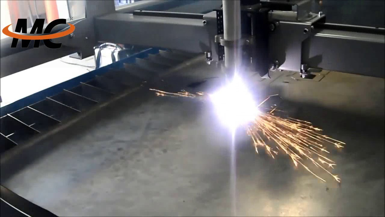 Stainless Steel Plasma Cutter : Plasma cutting machine cut stainless steel plate youtube