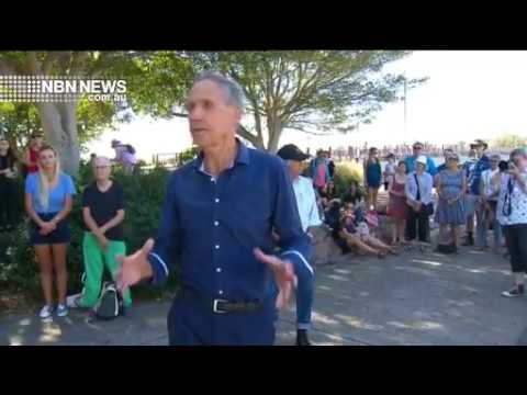 Seismic Testing Protest (featuring Bob Brown), April 2018