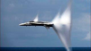 【衝撃】すさまじい戦闘機のハイスピード映像【音速突破!?】