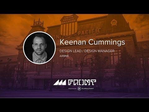 Product vision and storytelling by Keenan Cummings at Front 2016 in Salt Lake City, Utah