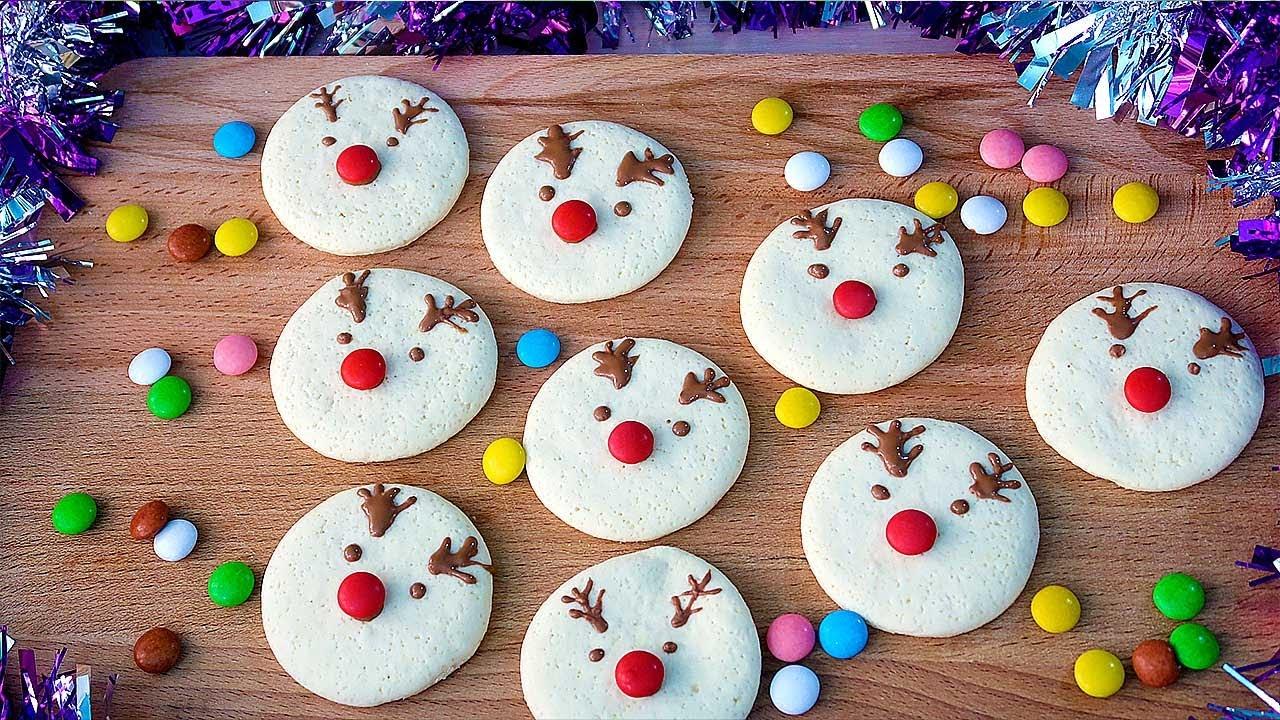 Новогоднее печенье Олени Мягкое и очень вкусное
