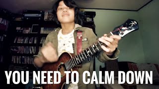 You need to calm down/ Taylor Swift, arranged and played by Feng E Video