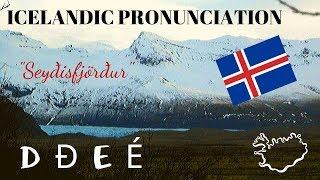 Icelandic Pronunciation D Ð E É