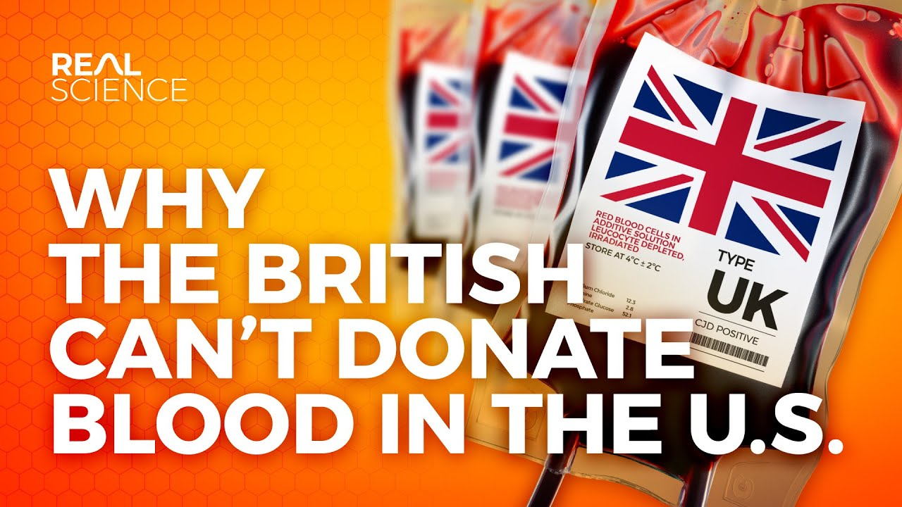 Why British People Can't Donate Blood in America