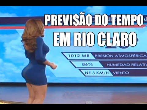 Previsão Do Tempo Em Rio Claro Sp Youtube