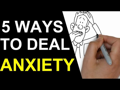 5 Ways to Deal With Stress and Anxiety of Being an Entrepreneur (Animated)
