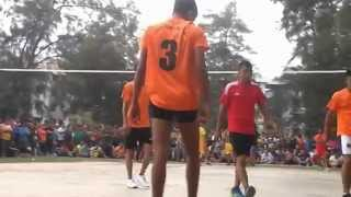 VOLLEYBALL GAME IN MALAYSIA PORT KLANG TIONG NAM YOUTH GROUP