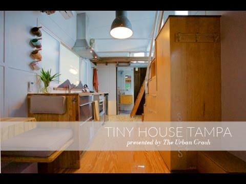Tiny House Tampa Trailer Youtube