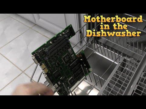 Macintosh LC II Recapping and Dishwasher