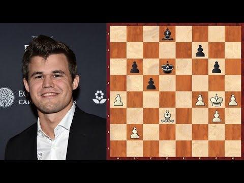 Шахматы. Карлсен - Пеллетье: ИНТЕРЕСНАЯ ПАРТИЯ, сыгранная в Международный День Шахмат!