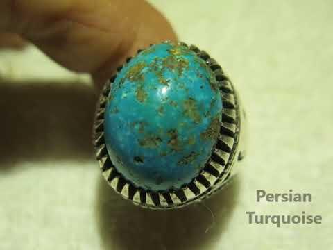 Turquoise Rings Handmade 2018
