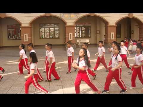 [Trường SNLH] Nhảy Flashmob Rửa tay |Lớp 3A | Song Ngữ Lạc Hồng | Hoạt động Đoàn Đội