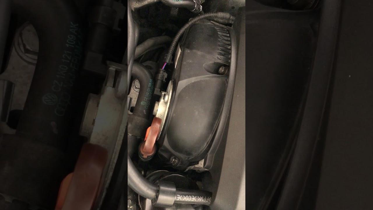 VW GTI mk6 passenger side engine Whistle