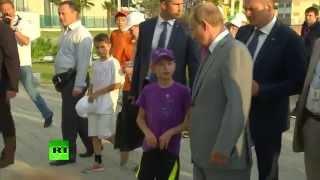 Владимир Путин объяснил школьнику в Сочи ситуацию с курсом рубля