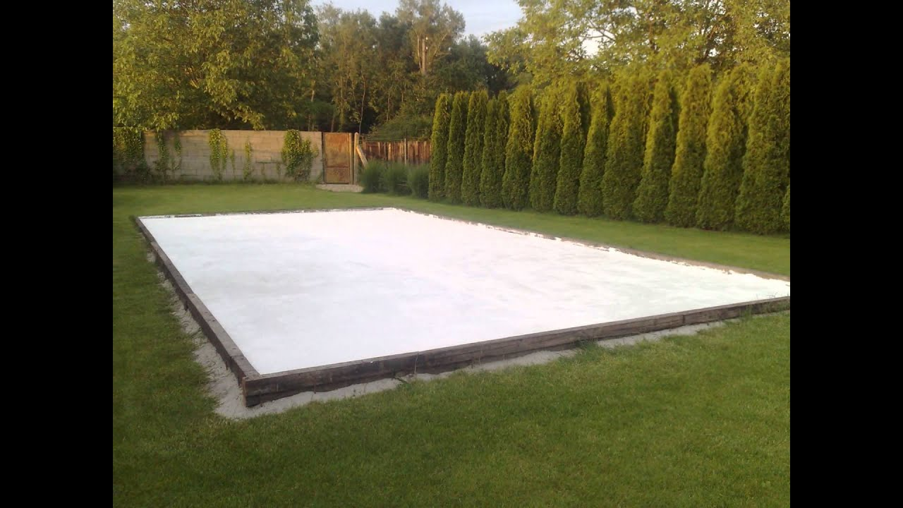 Superieur Backyard Hockey Rink ( Summer Edition)