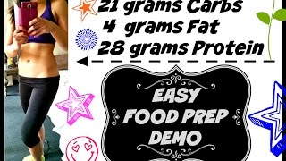☆ MEAL PREP TO LOSE WEIGHT ☆ Calories Macros and Cost) 11 HEALTHY MEALS ☆ Food prep with me!