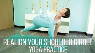 Realign your shoulder girdle yoga practice