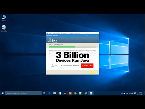 Cara Install Java Windows 10