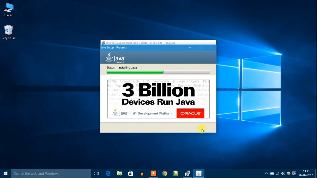 How to Install Java JDK on Windows 10 - YouTube