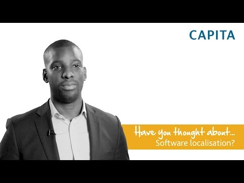 Have you thought about software localisation?