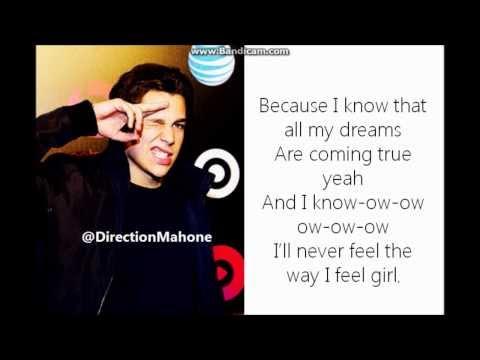 Austin Mahone - U Lyrics [STUDIO VERSION]