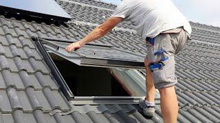 Handwerkerstichprobe Dachfenstertausch